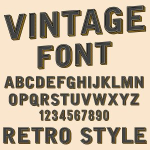 Get Acquainted With Font By 1 Stop Signs