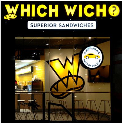 Which Wich Illuminated Sign